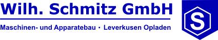 Wilh.Schmitz Maschinen – und Apparatebau GmbH in Leverkusen